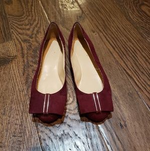 Maroon shoes never worn!